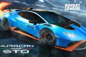 The Lamborghini Huracán STO Speeds Into Rocket League Starting April 21