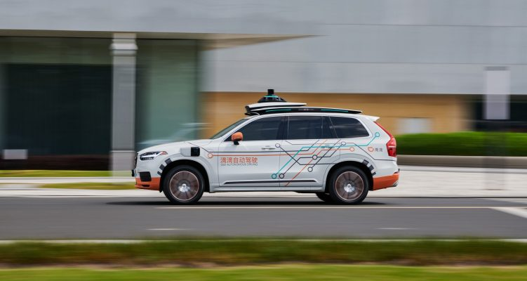 Volvo to supply Chinese ride hailing giant Didi with autonomous driving cars