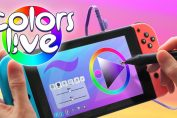 Digital Art Software Colors Live Is Getting A Physical Release On Switch