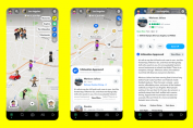 Snap brings partner-centric Layers to its social map used by 250 million people