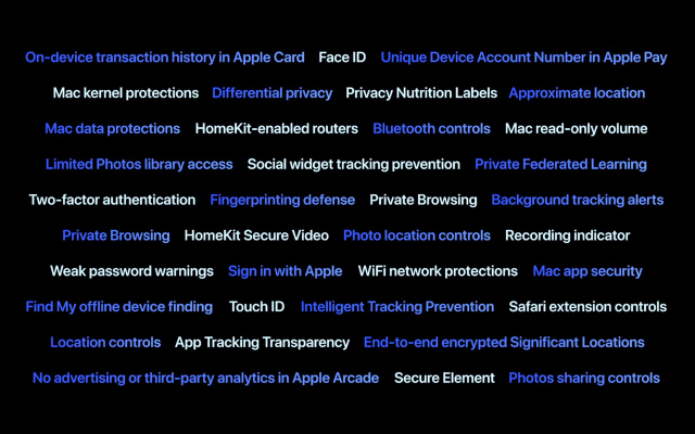 7 new security features Apple quietly announced at WWDC