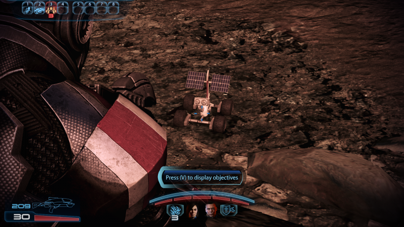 Mass Effect Legendary Edition Player Finds Long Lost Mars Rover Easter Egg In Mass Effect 3