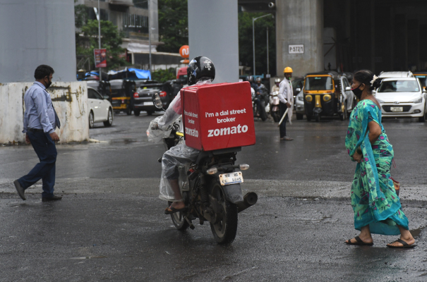 Food delivery firm Zomato surges 65% in key India debut