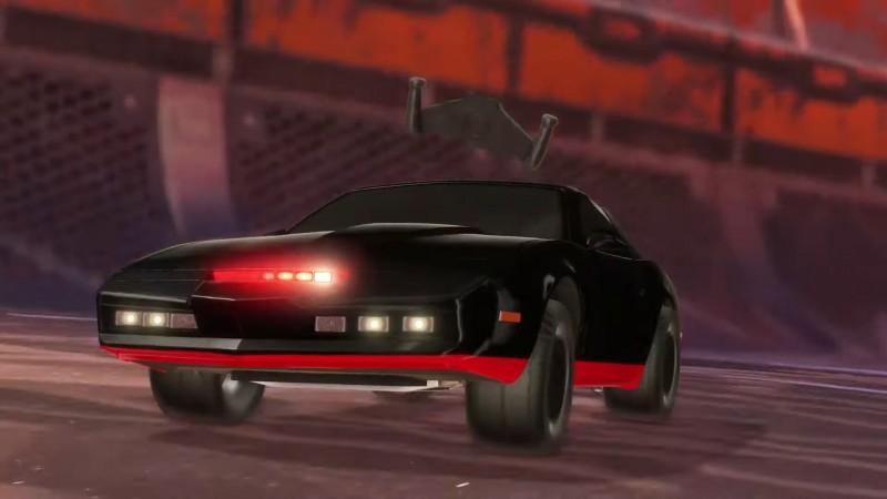 Rocket League Brings Back Knight Rider Car Today