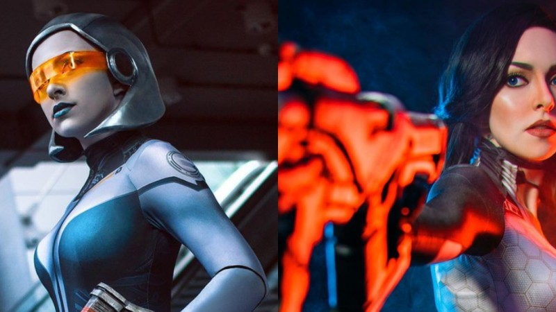 This Mass Effect Cosplayer Brings Her Miranda And EDI Cosplays To Life In The Best Way