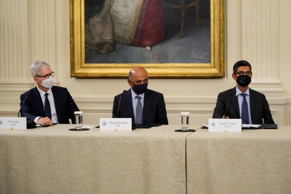 Big Tech pledges billions to bolster U.S. cybersecurity defenses