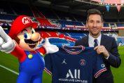 Random: Ligue 1 Celebrates Lionel Messi's PSG Move With A Super Mario Tribute
