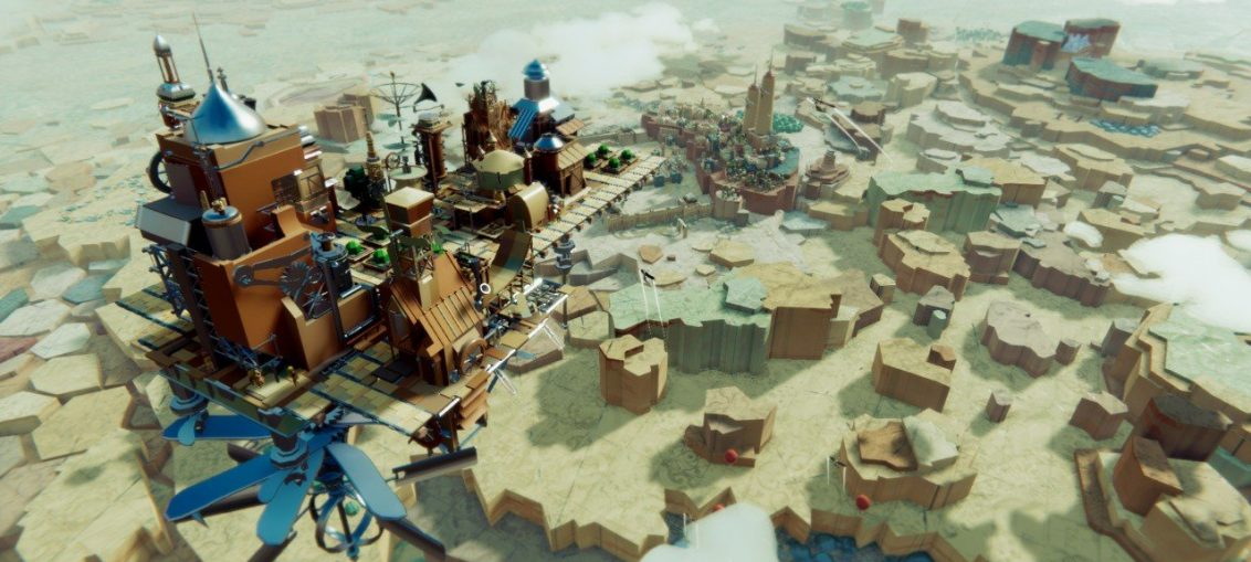 Steampunk City Builder 'Airborne Kingdom' Is Swooping Onto Switch This November