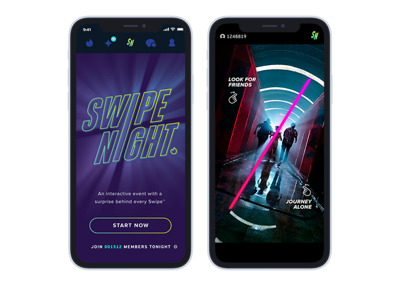 Tinder's interactive 'Swipe Night' stories return after a 20 million user turnout