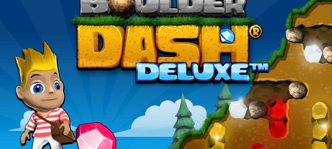 Video For Boulder Dash Deluxe Available Now