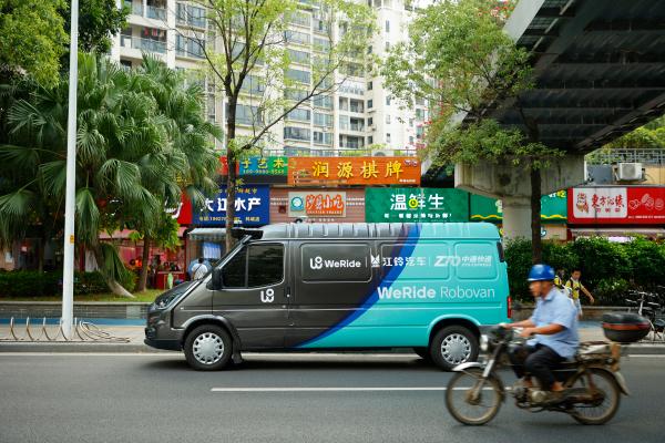 China's WeRide unveils Robovan, its first electric, autonomous cargo van