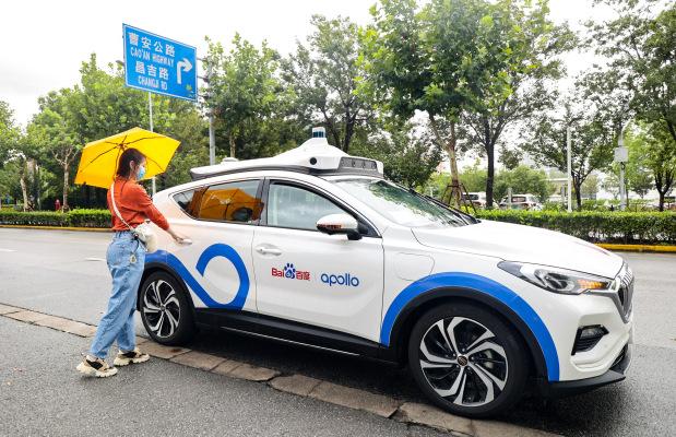 Chinese tech giant Baidu begins publicly testing Apollo Go robotaxis in Shanghai