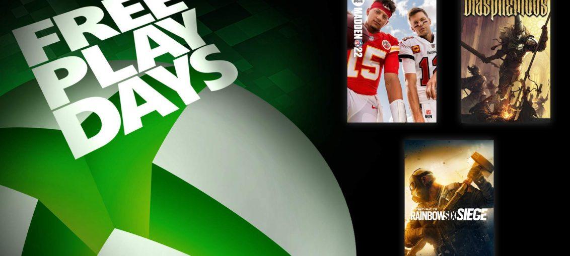 Free Play Days - September 9