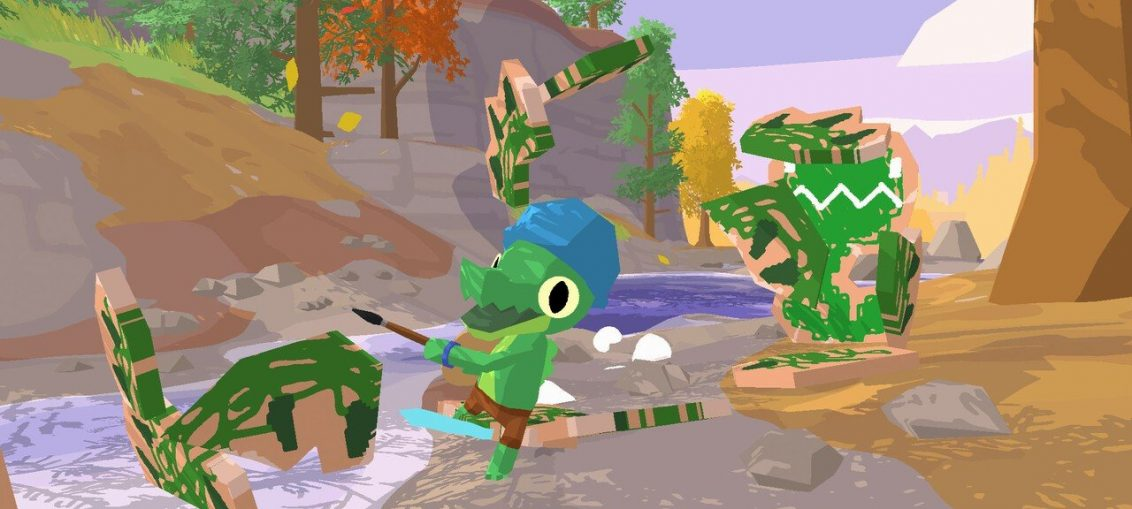 Lil Gator Game Is An Adorable Adventure Waddling Onto Switch