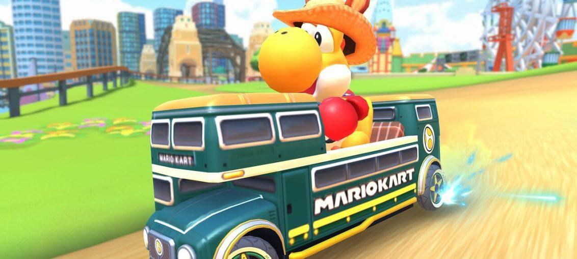 Mario Kart Tour Adds Yoshi 'Kangaroo' For Sydney-Themed Event