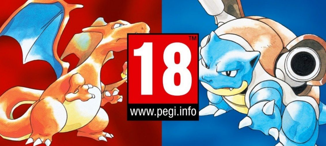 New PEGI Gambling Criteria Means Old Pokémon Games Would Now Be Rated 18+