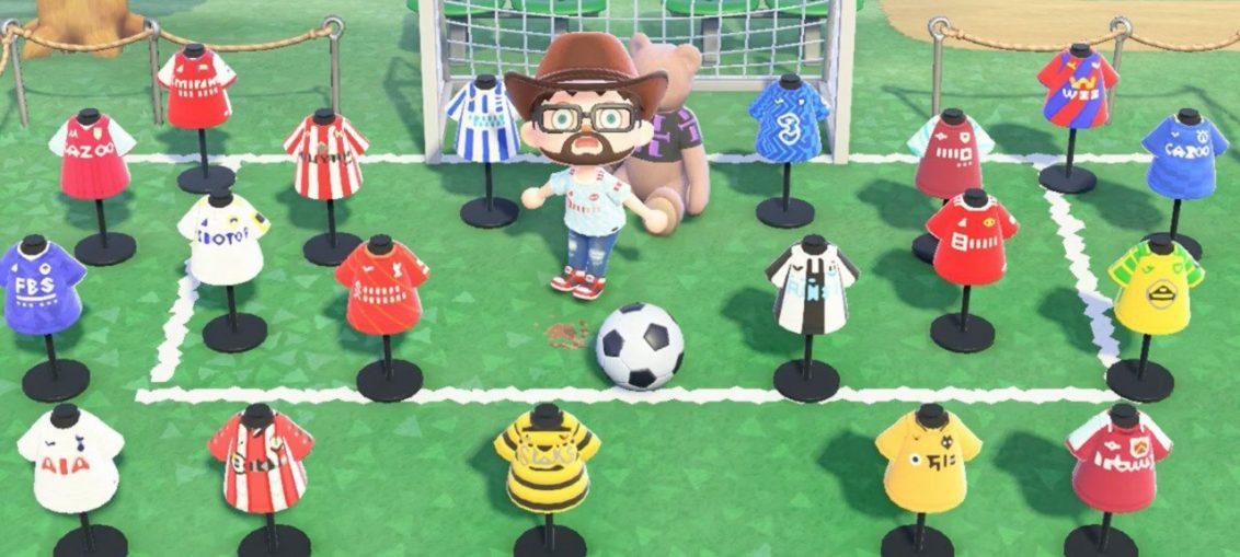 Random: Animal Crossing Fan Shares Designs For All 20 Premier League Shirts
