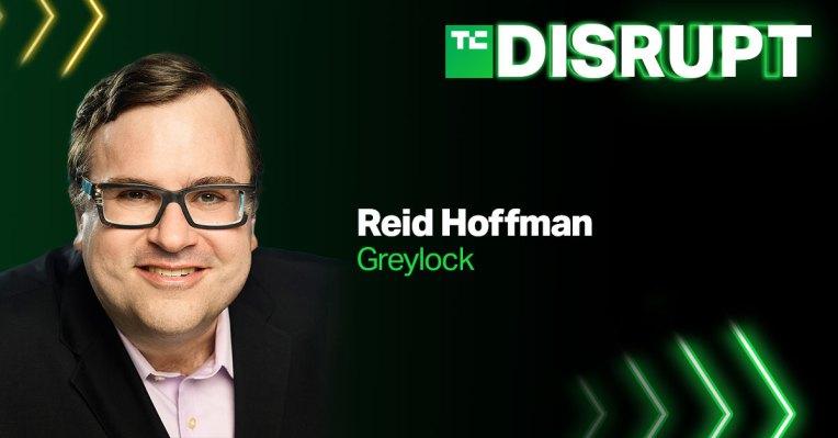 Reid Hoffman is returning to Disrupt