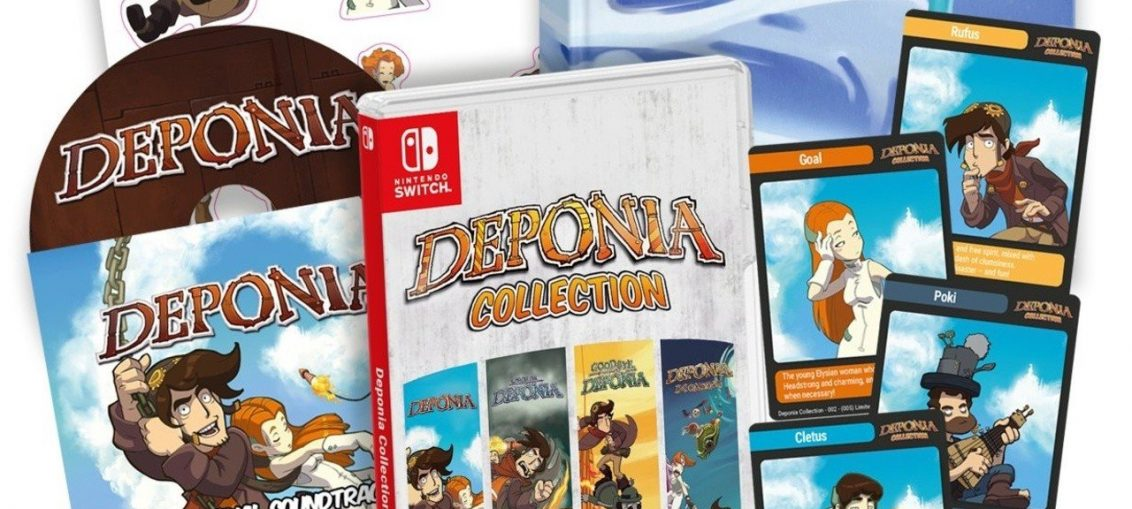 Super Rare's Deponia Physical Collection For Switch Goes On Sale Next Week