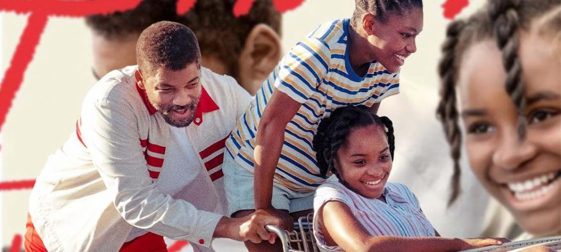 Will Smith Is Venus & Serena Williams' Loving Father In King Richard Poster