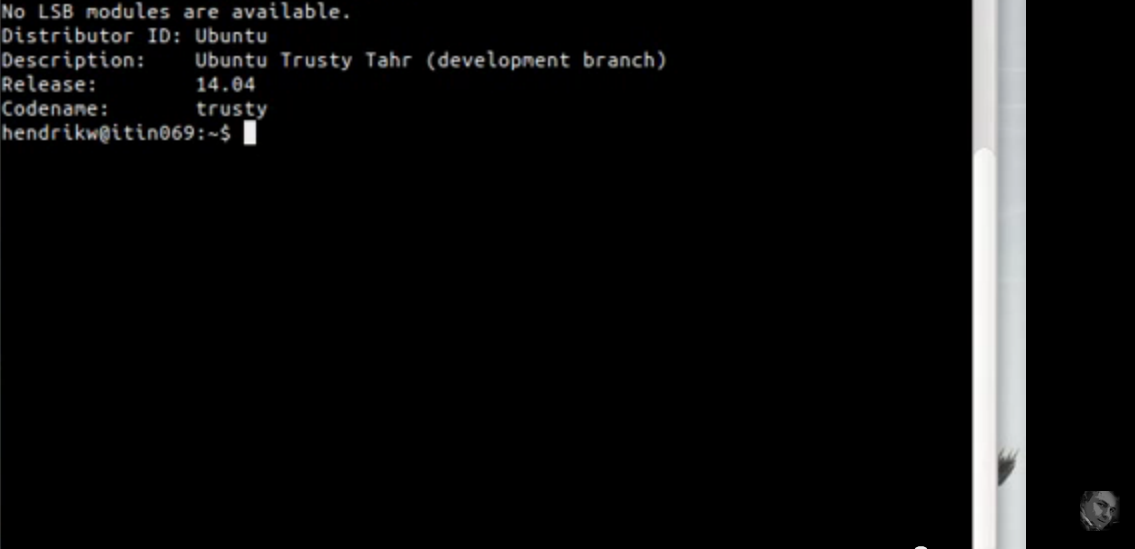 Get your release and version number in Ubuntu using Terminal