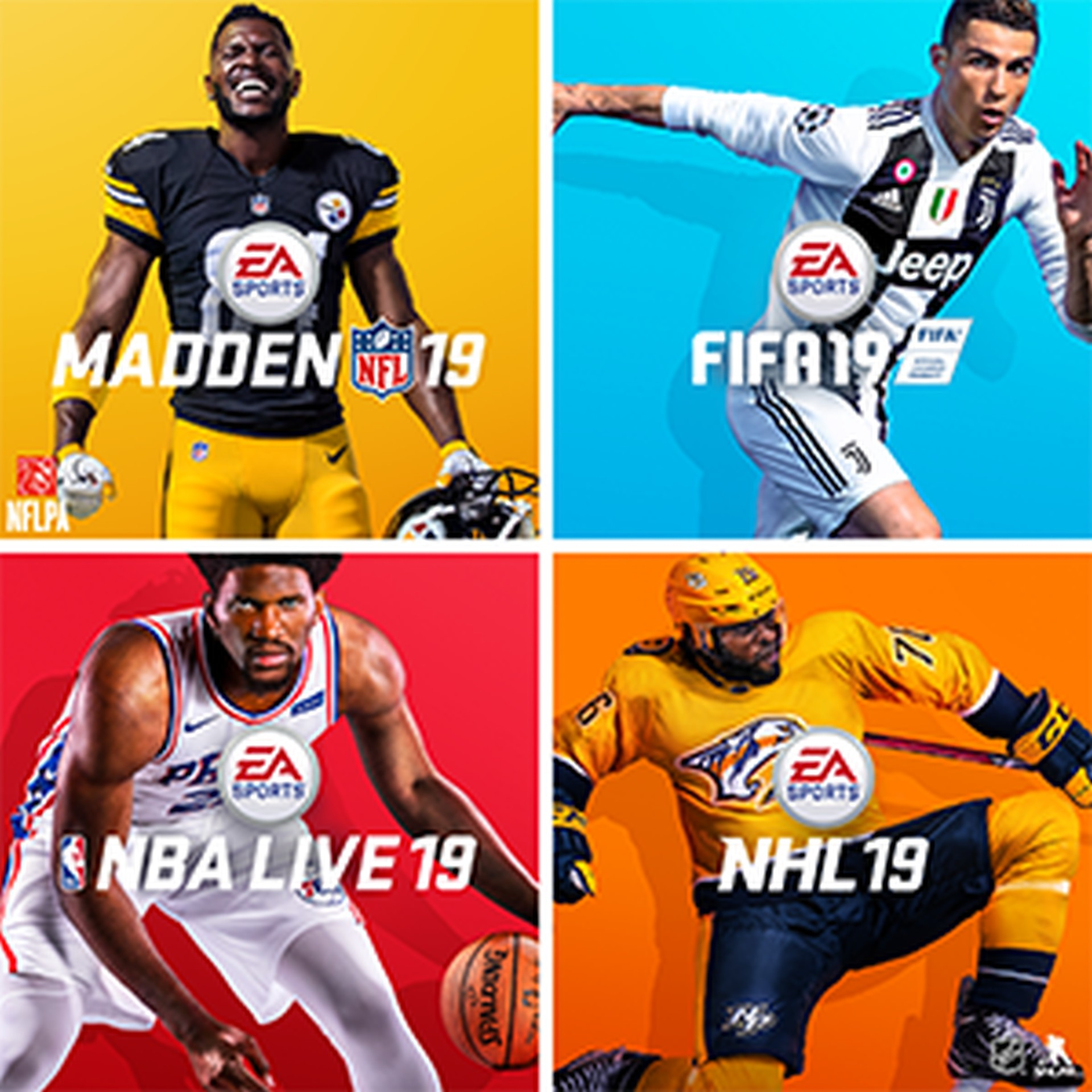 Get Four Great Games with the EA Sports Bundle