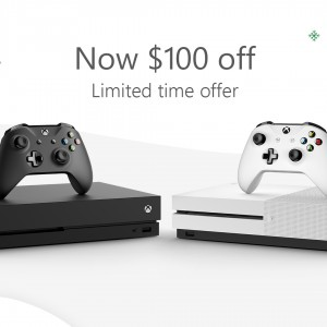 Give the Gift of Thrills with $100 Off Xbox One Consoles