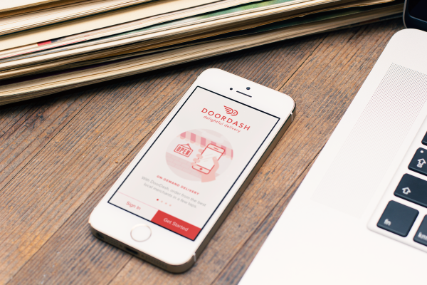 DoorDash subsidizes driver wages with tips