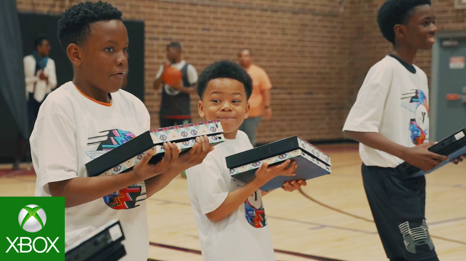 Video forXbox & 2K Foundations Celebrate Community in North Carolina During All-Star Weekend