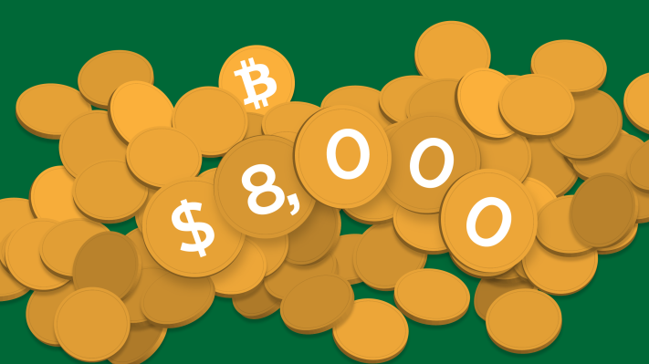 Bitcoin has surged above $8,000 and theories around why abound