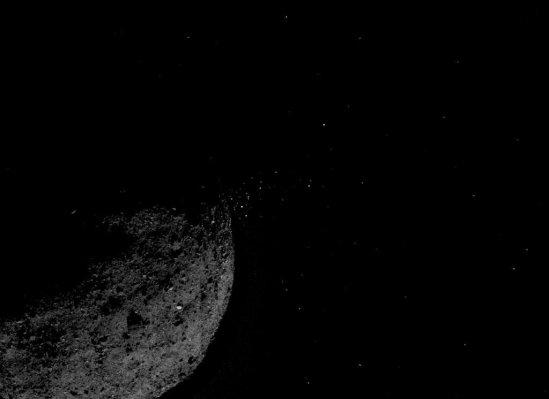 NASA's OSIRIX-REx probe sets a space record with a close orbit of weird asteroid Bennu