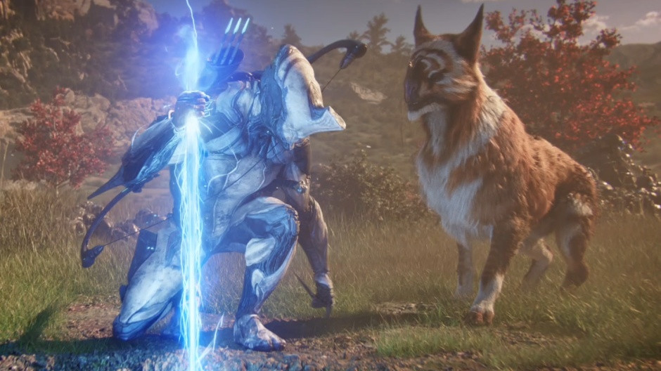 Video forDigital Extremes Eclipses Past Updates with Deep Space Combat Demo at TennoCon 2019