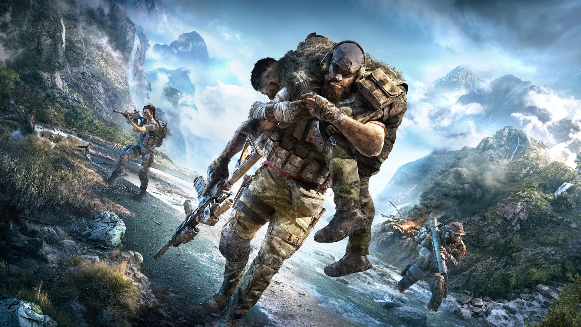E3 2019: Tom Clancy's Ghost Recon Breakpoint Refocuses the Series on Spec Ops