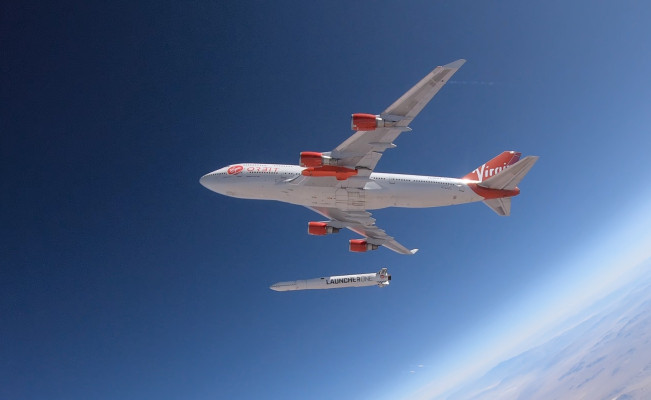 Virgin Orbit signs agreement to launch small satellites for the UK's Royal Air Force