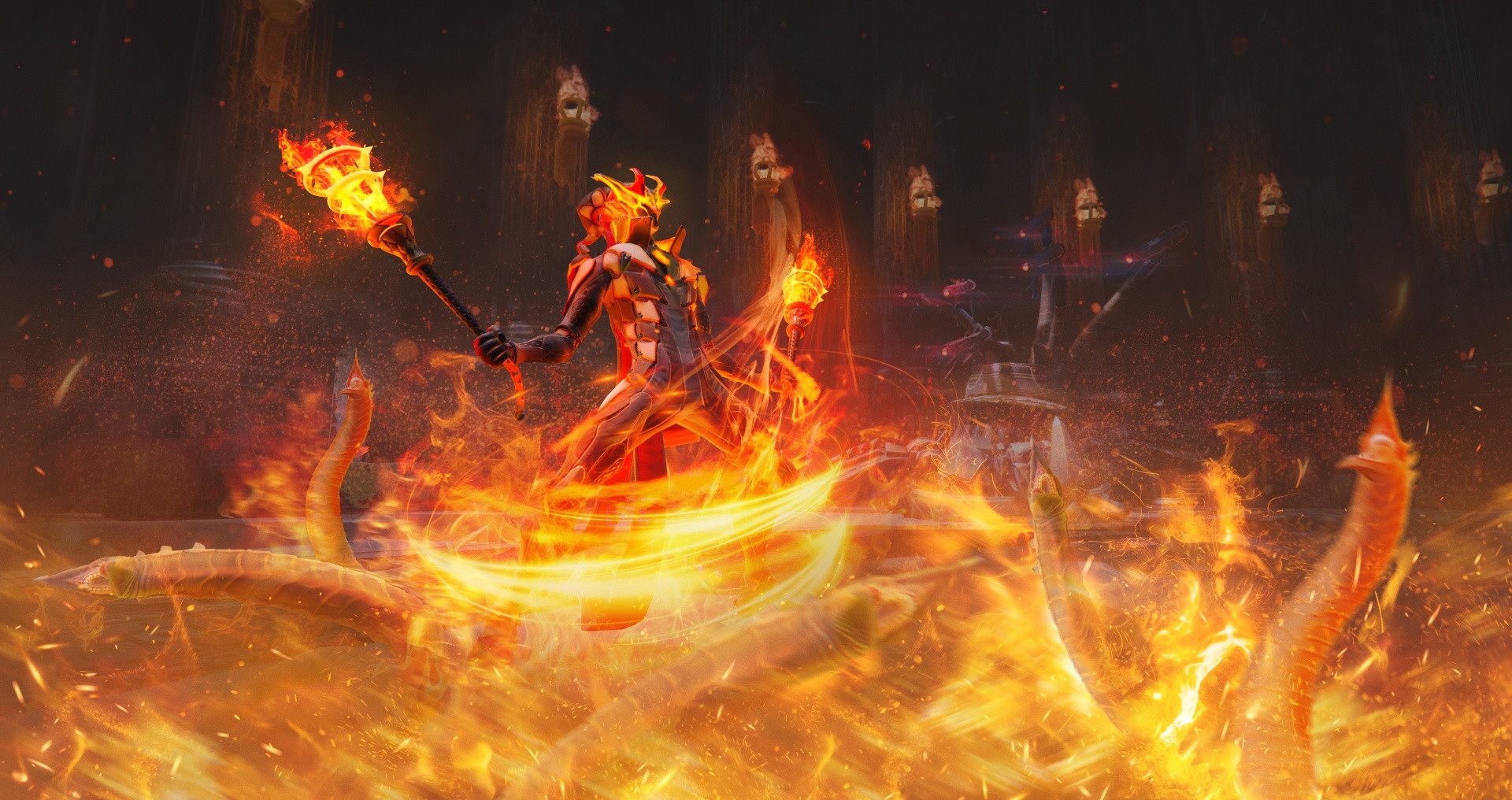 Play with Fire in an Upcoming Skyforge Update on Xbox One