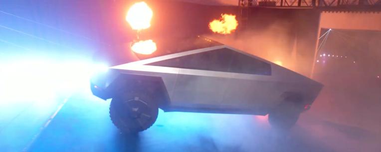 Behold, the Tesla Cybertruck is here