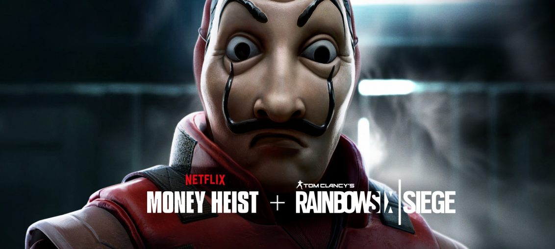 """Rainbow Six Siege and """"Money Heist"""" Team Up in Free Weekend Event"""