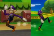 Random: Fan Makes Amazing Mario Kart Mod Where Waluigi Races By Running On Foot