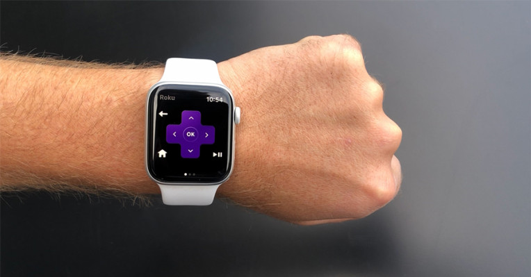 Roku puts a remote on your wrist with new Apple Watch app