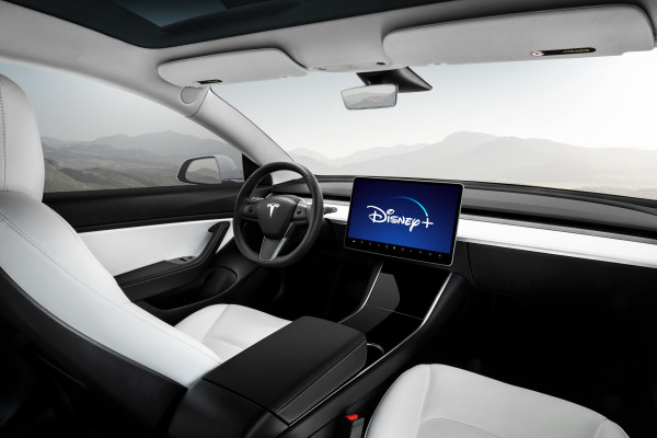 "Elon Musk says Tesla will add Disney+ to its vehicles ""soon"""