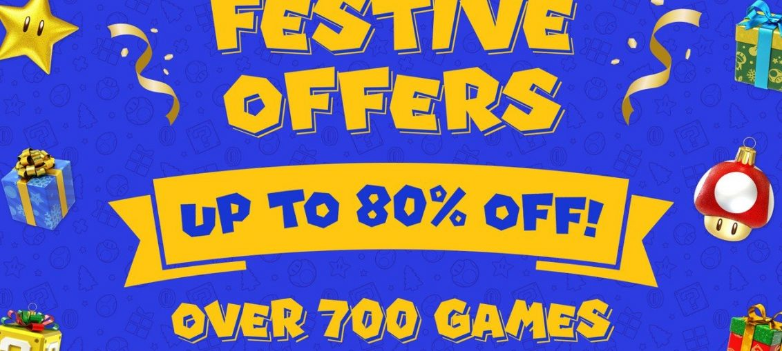 Huge Nintendo Switch Festive Sale Sees More Than 700 Games Discounted By Up To 80% (Europe)