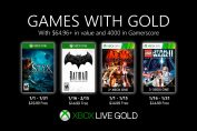 New Games with Gold for January 2020