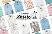 Pokémon's Customisable Shirts Are Now Available In Some Lucky European Countries