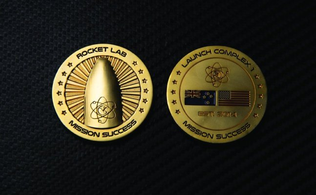 """Rocket Lab adds new $7.5 million """"Mission Success"""" coin to its online store"""