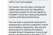 CES defends choosing Ivanka Trump for keynote
