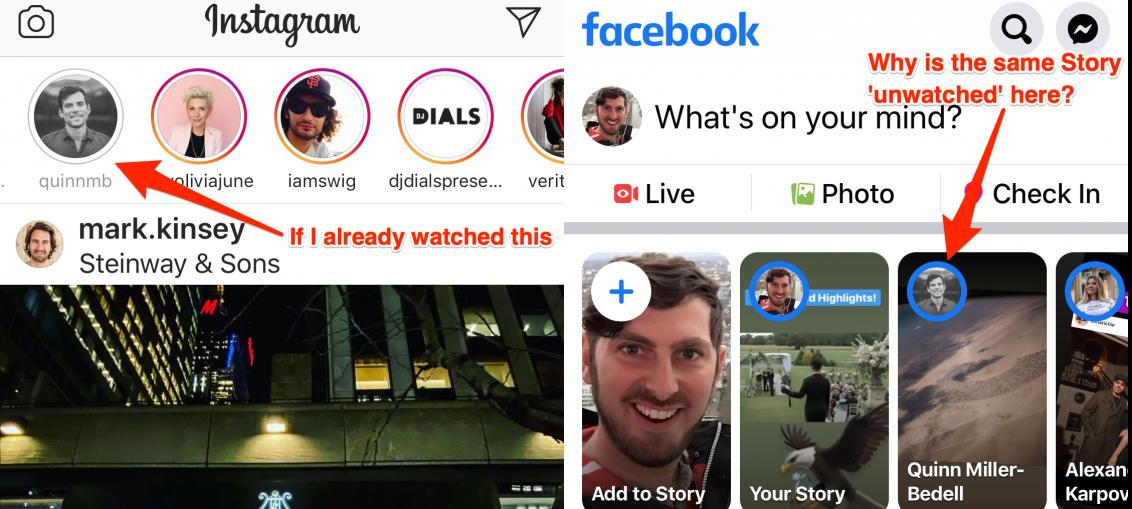 Yo Facebook & Instagram, stop showing Stories reruns