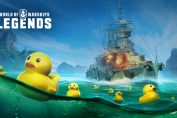 Behold the Duck of War in World of Warships: Legends