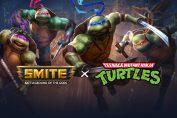 Cowabunga! Teenage Mutant Ninja Turtles join the Battleground of the Gods in Latest Smite Update.