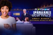 This is Jeopardy! PlayShow, Let's Meet Today's Contestants… You!