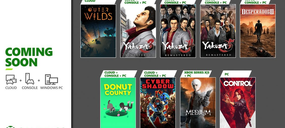 Coming Soon to Xbox Game Pass: Yakuza Remastered Collection, The Medium, and More